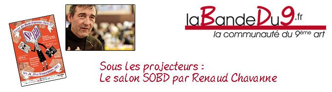 Bandeau de l'article Interview Renaud Chavanne - Salon SOBD