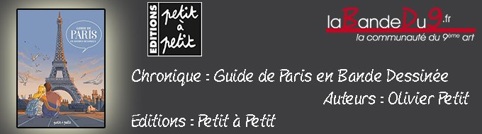 Bandeau de l'article Guide de Paris en BD