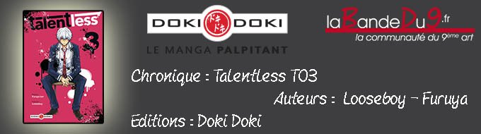 Bandeau de l'article Talentless - Tome 3