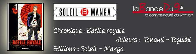 Bandeau de l'article Battle Royale - Ultimate Edition Tome 1