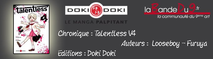 Bandeau de l'article Talentless - Tome 4