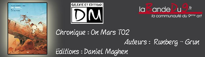 Bandeau de l'article On Mars