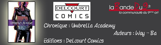 Bandeau de l'article Umbrella Academy T03