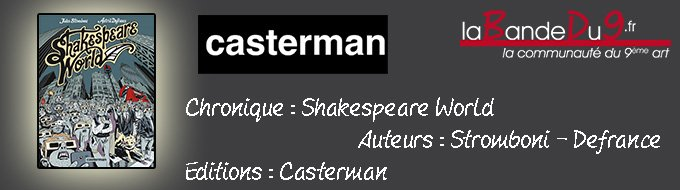 Bandeau de l'article Shakespeare world