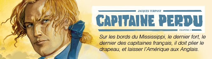 Bandeau de l'article Quelques planches de Capitaine Perdu