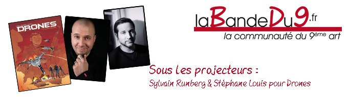Bandeau de l'article Interview Sylvain Runberg et Stephane Louis