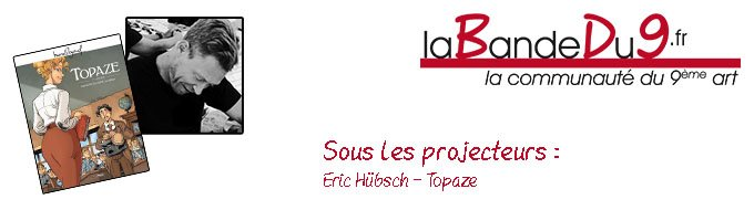 Bandeau de l'article Interview Eric Hubsch - Topaze