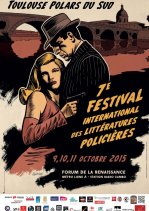 Affiche de l'évènement 7e festival international Toulouse Polars du Sud