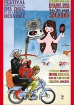 Affiche de l'évènement 28e Festival International Del Disc et de la Bande Dessinée