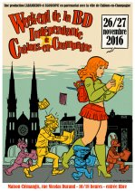 Affiche de l'évènement WE DE LA BD INDEPENDANTE 2016