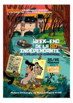 Affiche de l'évènement WE DE LA BD INDEPENDANTE 2017