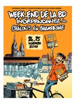 Affiche de l'évènement WE DE LA BD INDEPENDANTE 2018