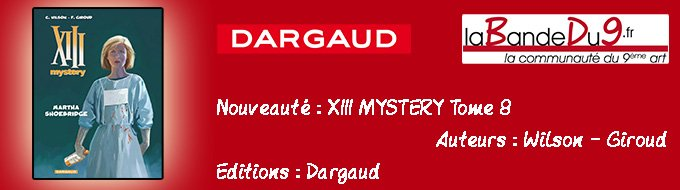 Bandeau de l'article XIII Mystery - Tome 8