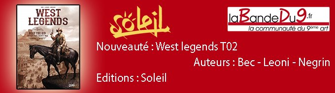 Bandeau de l'article West legends tome 2