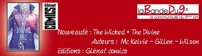 Bandeau de la nouveauté The wicked + the divine tome 2 - Fandemonium